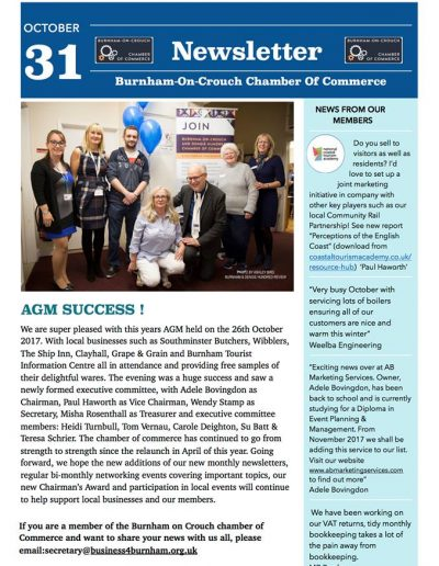 Burnham on Crouch Chamber of Commerce